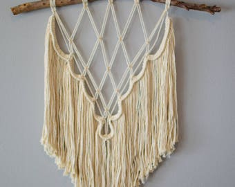 Medium Macrame Wall Hanging / macrame wall hanging / wall hanging / tapestry / macrame decor / boho decor / wall art / bohemian