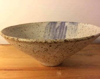 Homemade ceramic bowl - stoneware pottery