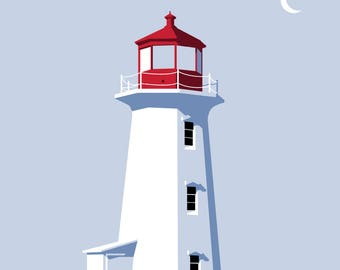 Peggy's Cove Lighthouse NS