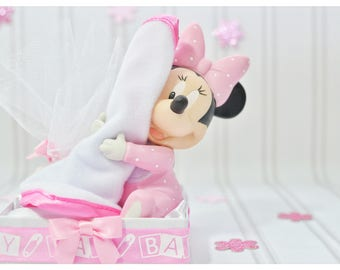 minnie mouse favors, unique, gift ideas, baby girl shower minnie, hugs, cuddles, minnie mouse, bomboniere, favor, baby shower, welcome, baby