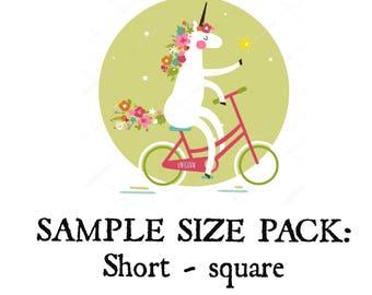 Sample Size Pack - Short Square