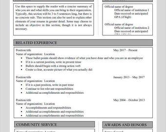 Grey Frame - Resume