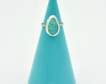 Size 5 - Fox Turquoise Ring