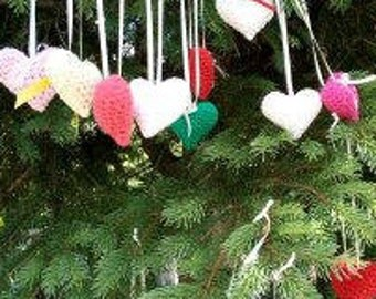 Choice of the crocheted heart