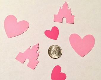 100 cutouts castle card stock cutout scrapbooking party favors card making
