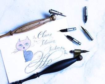G pen, titanium G pen and Fountain nib sets