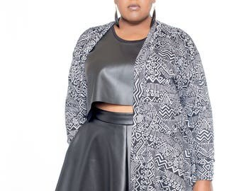 Trendy Plus Size Long Sweater Duster
