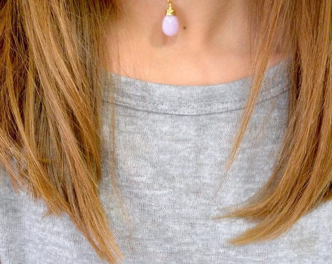 Purple Jade Necklace