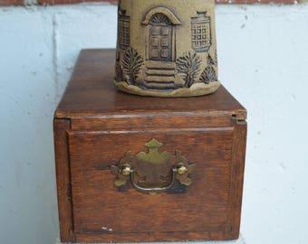 Vintage Designer Slab Clayworks Pottery/Wall Decor Pocket