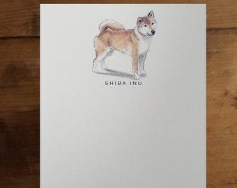 Shiba Inu Note Card Set