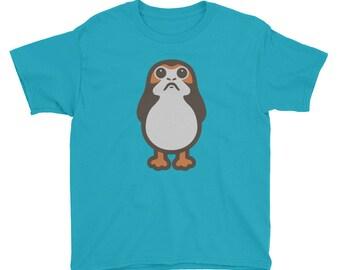 Porg Youth Short Sleeve T-Shirt