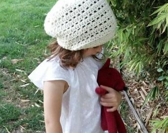 Soft Slouchy Beanie, Women Crochet Hat, Hipster beanie, Cade Cap, Crochet slouchy hat, Boy and girl slouchy beanie, Lightweight beanie, Hat