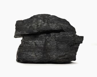 Coal Lump Anthracite Piece Vintage Coal Sculpture