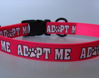 Sassy Pink Adopt Me Dog Collar and Leash - Ready to Ship!