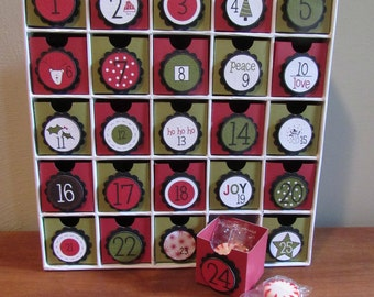 Small Contemporary Advent Calendar