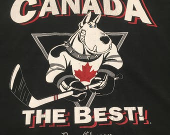 90s Hockey Night in Canada Shirt - Vintage Don Cherry Shirt - 90s Canada Shirt - Vintage Canada Tshirt - Canada The Best - Hockey Shirt
