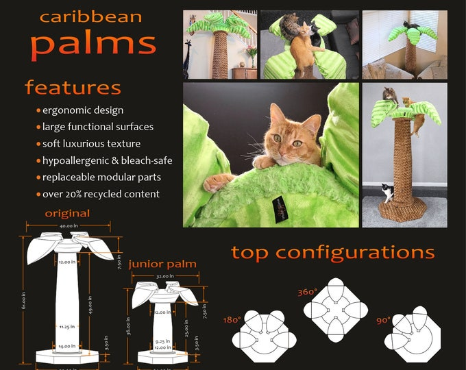 Caribbean Palms - The best cat tree ever!