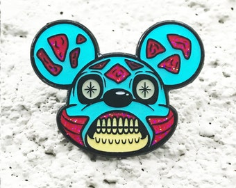 Mickey They Live Enamel Pin | Disney X They Live Pin | Limited edition lapel pin