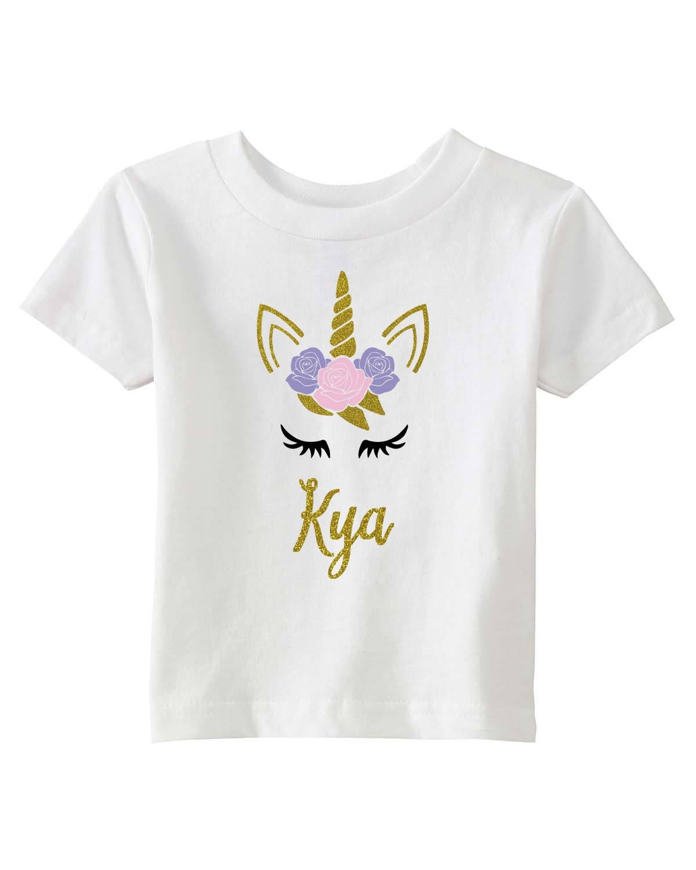 Unicorn Birthday Shirt Toddler Unicorn Tshirt Unicorn