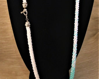 Kumihimo Braided Long Necklace