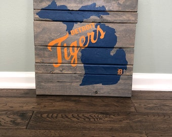 Michigan with Detroit Tigers
