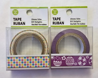 """Easter Decorative Tape - Set of Two 9/16"""" x 393"""" (15mm x 10m)"""