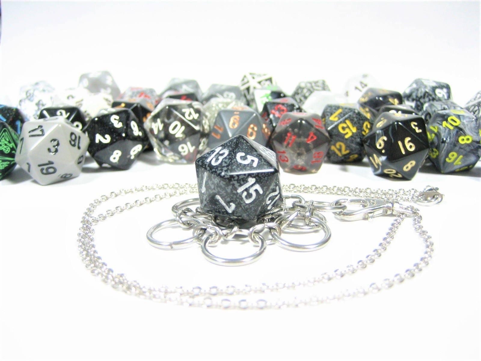 how to make a custom large spin down dice
