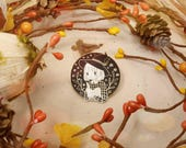 Aesthetic Witch Pin