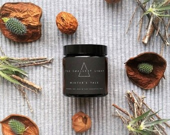 WINTER'S TALE - Aromatherapy Soy Candle