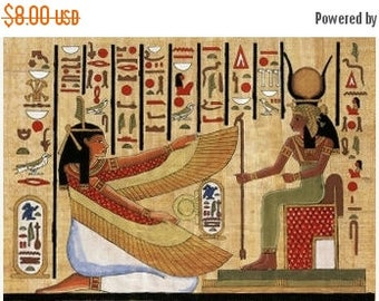 Egyptian Cross Stitch Pattern Pdf hieroglyphs Cross Stitch punto de cruz - 303 x 215 stitches - INSTANT Download - B662