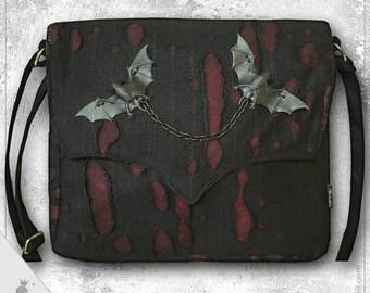 """Shoulder bag  """"Vlad Big"""" - Extraordinary Gothic Style shoulder bag"""