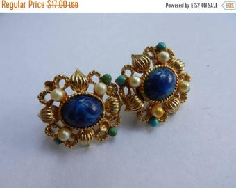 Inventory Sale Vintage Costume Jewelry Clip On Earrings