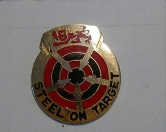 Easter Sale Vintage US Army 23rd Artillery Group Unit Crest Insignia