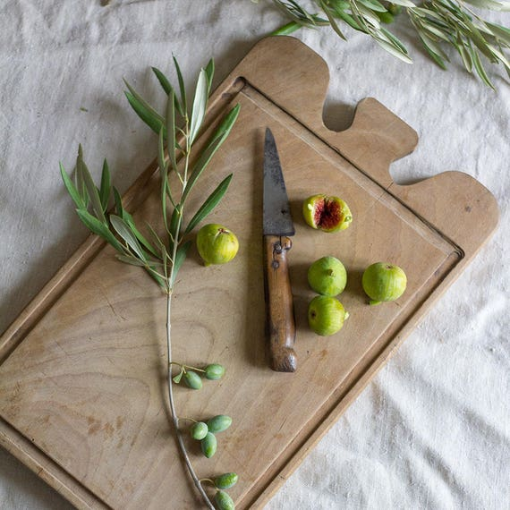 Vintage Homecarved French Cutting Board