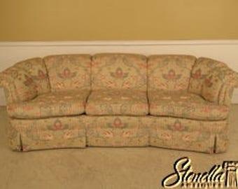 L41575E: KINDEL Crescent Shape Decorator Upholstered Sofa