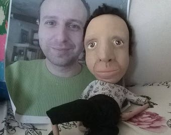 Hand Made Polymer Clay Marionette Character Puppets
