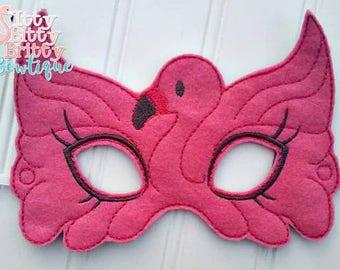 Flamingo inspired mask