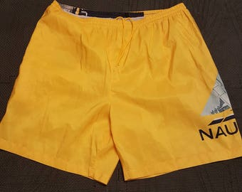 Vintage nautica swim trunks sz. Xl