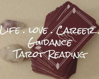 Tarot Reading // 1-Card Reading // FREE Instant Download