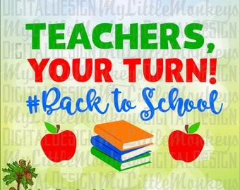 First Day of School, School SVG, Teacher SVG, Back to School svg, Parent School Shirt, Commercial Use SVG, Clip Art, Cut File, eps, dxf, png