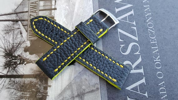 Italian Bovine Leather - Handmade Watch Strap 03