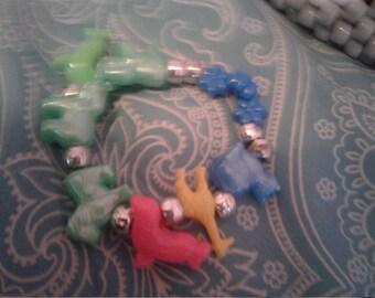 Animal kandi bracelet