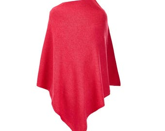 Angora and Lambswool poncho