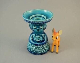 Vintage candle holder / Terraform | West Germany | WGP | 70s