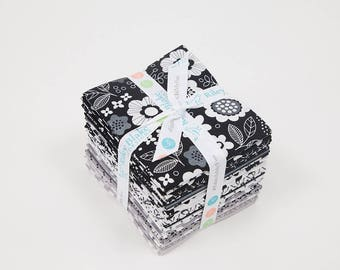 Fat Quarter Bundle Delilah by Doodlebug Design Inc for Riley Blake Designs- 21 Fabrics