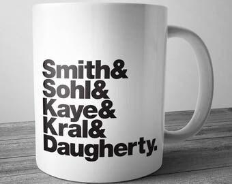 Patti Smith Group Rock Band Mug