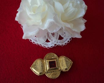 French vintage Maroussia perfume brooch (06083)