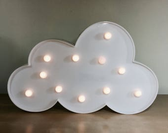 White Cloud LED Night Light / Party Light