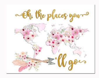 It is a photo of Epic Oh the Places You'll Go Arrows Printable