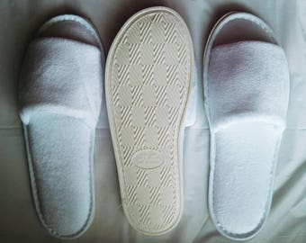 Upgrade to Rubber bottoms with thicker foam for slipper orders